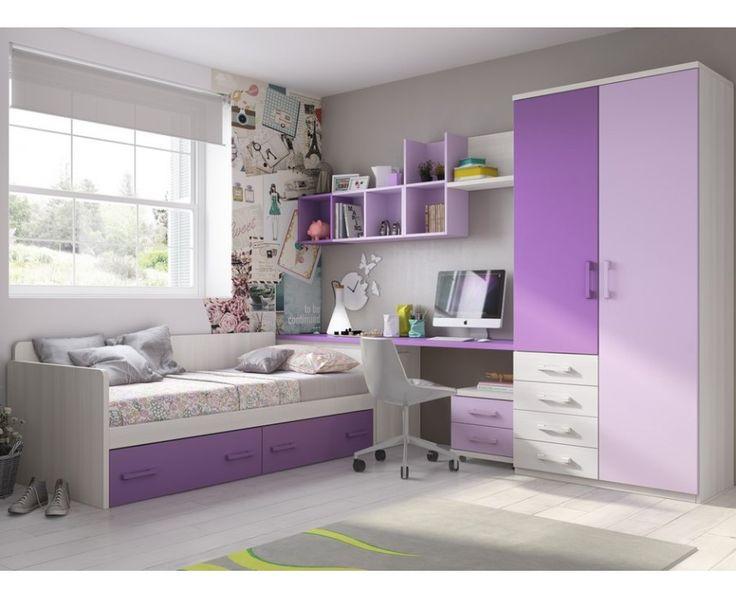 Dormitorio Juvenil Modelo Torrente 4
