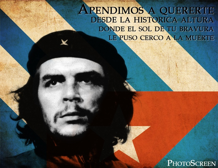 """Hasta Siempre, Comandante""is a 1965 Spanish song by Cuban composer Carlos Puebla. The song's lyrics are a reply to revolutionary Che Guevara's farewell letter when he left Cuba, in order to foster revolution in Congo and later Bolivia. The song became iconic after Guevara's death and has more than 200 covers."