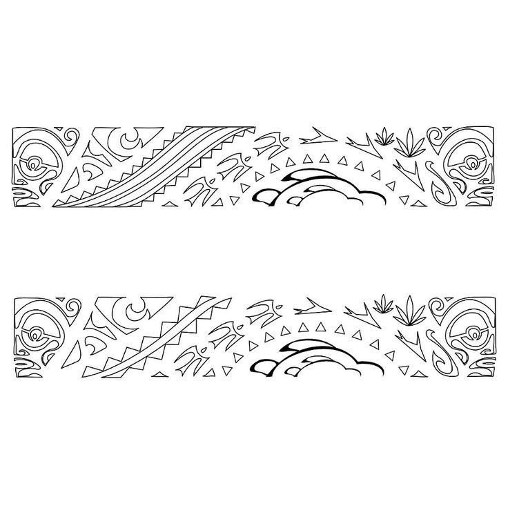 polynesian designs and patterns | TATTOO TRIBES - Dai forma ai tuoi sogni, Tatuaggi con significato ...