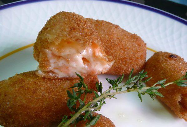 Receta de Croquetas de salmón