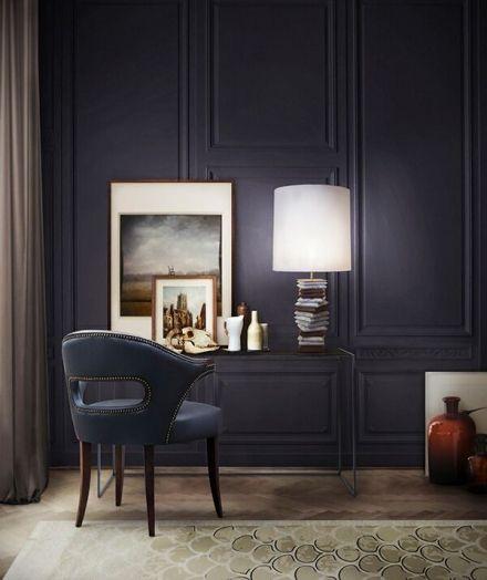 Dark Blue Room
