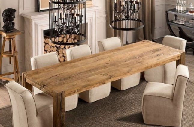 The Elegance And Beauty Of Narrow Dining Tables For Small Spaces Unfinished Wooden Narrow Dining Ta Narrow Dining Tables Dining Room Small Wooden Dining Tables