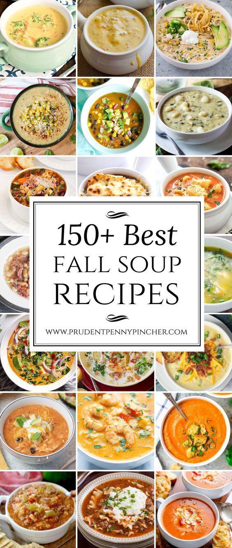 150 Best Fall Soups