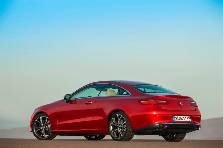 The new Mercedes E-Class Coupe