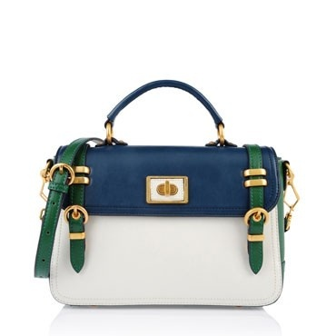 Charles & Keith_colour blocking satchel