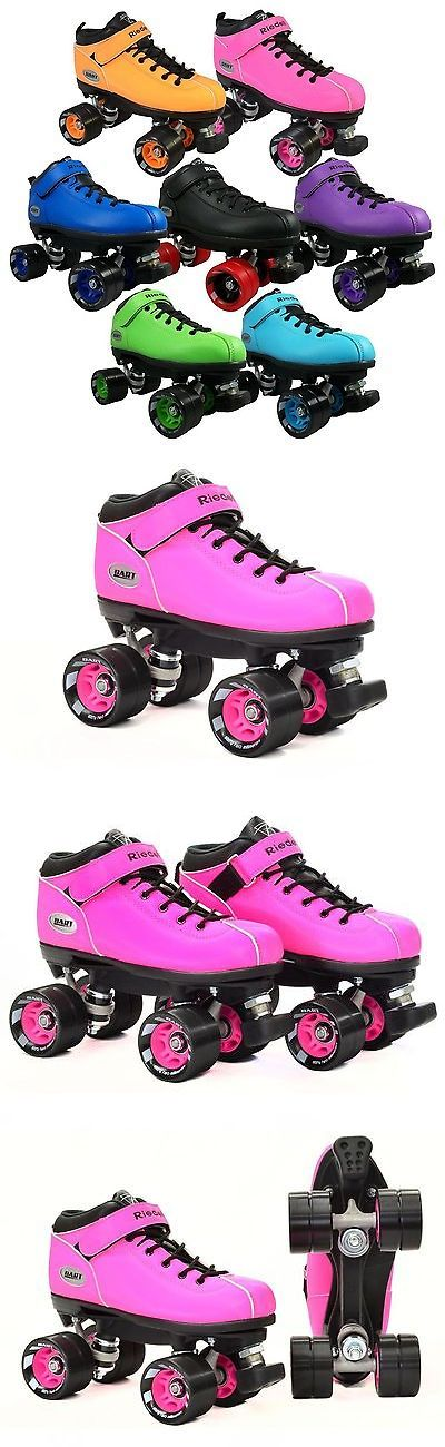 Men 71155: Riedell Dart Quad Roller Derby Speed Skates -> BUY IT NOW ONLY: $109 on eBay!
