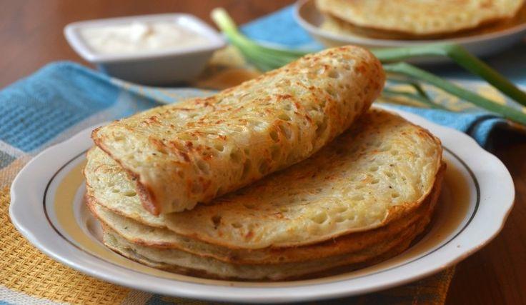 Картофельные блины- блюдо для сытного перекуса