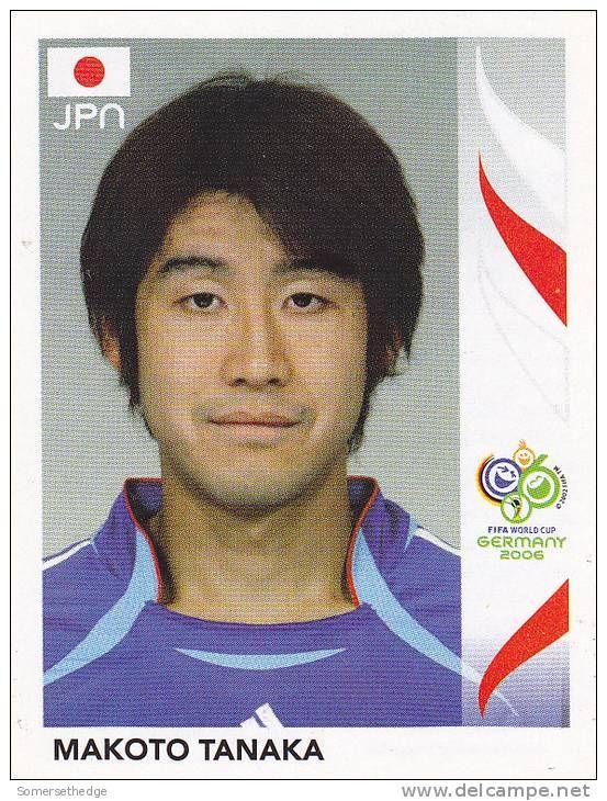 world cup panini germany 2006 - m.Tanaka
