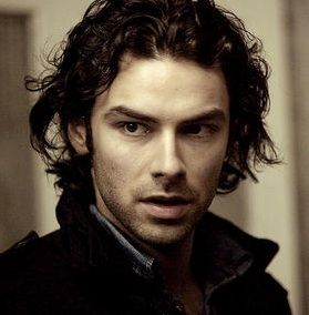 Aidan Turner. I still love darker colours. Saw him as a dwarf firstin the Hobbit. He can sport long hair.