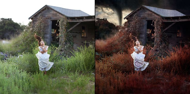 "The Making of ""Twisted"" Photomerge Tutorial"