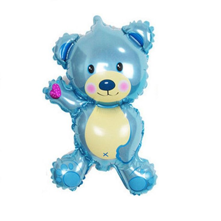 Free shipping new mini Bear Teddy Bear foil balloon aluminum balloons birthday party decoration balloon wholesale baby
