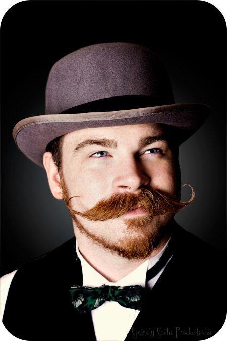 Vintage moustache