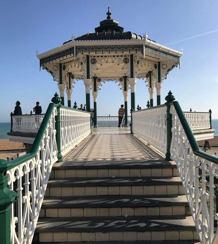 Brighton bandstand #brighton #sea #beach #seaside #spring #brightonbandstand