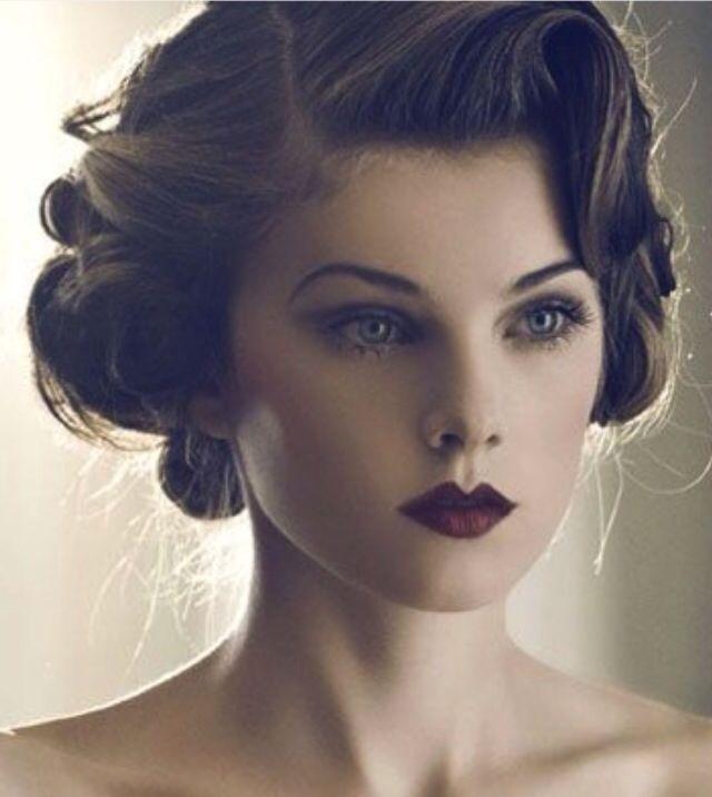 Vintage glam - a must try @Mindy Sue Brey-Ryan