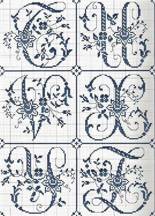 Gallery.ru / Фото #38 - Sajou Passion des Alphabets Anciens - Orlanda