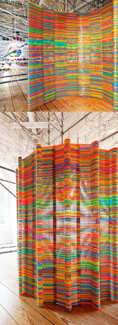 Divisor de perchas/ Divider hangers #recycle design
