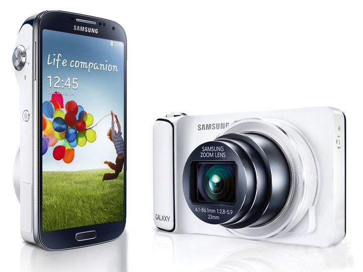 Samsung Galaxy S4 Zoom – 8 GB in white. This Samsung smartphone is in one unity with Samsung Camera. Equipped with Android Jelly Bean, with 3G and Wi-Fi. http://zocko.it/LDQzM