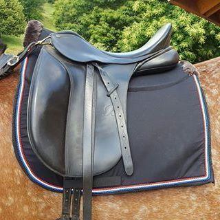 Tapis Evernite Taille dressage Tissus coton noir Triple Cordelette…