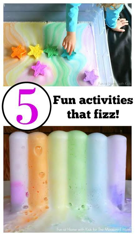 Check out these fun variations on the classic baking soda and vinegar experiment! Your kids will love this fizzy science and sensory play!