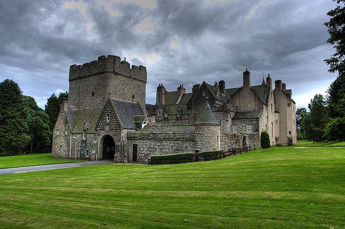 Drum Castle, Scotland - Storm Approaching