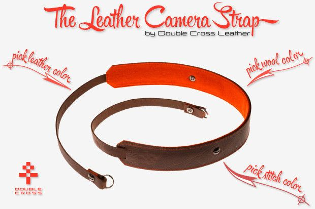 Get you Leather Camera Strap on Indiegogo.