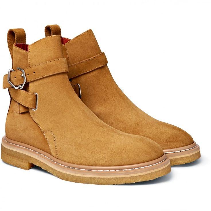 Acne Studios - Julian Suede Jodhpur Boots #men #shoes #boot #footwear #tan