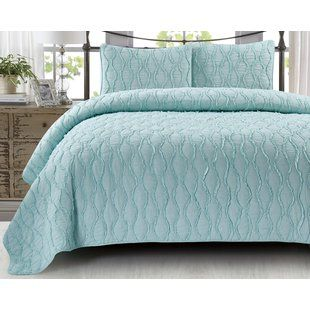 Shop Wayfair for all the best 100% Cotton King Size Quilt & Coverlet Sets. Enjoy Free Shipping on most stuff, even big stuff.