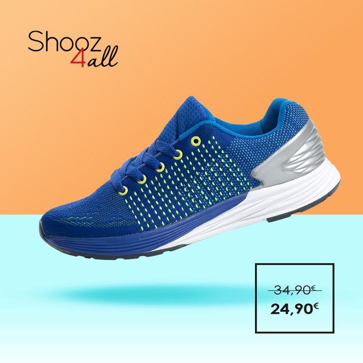 Εντυπωσιακές sport εμφανίσεις στο γυμναστήριο και τη βόλτα με ανδρικά αθλητικά παπούτσια σε έντονη μπλε απόχρωση. Από ύφασμα mesh που αναπνέει, θα σας χαρίσουν μοναδικά ελαφρύ και άνετο πάτημα. http://www.shooz4all.com/el/andrika-papoutsia/athlitika-papoutsia-mple-me-prasino-m8665-detail #shooz4all #athlitika #andrika