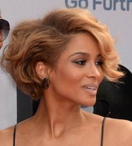 I luv ciara 39 s hair color she can pull anything off hair color trends we luv - Coupe courte femme black ...
