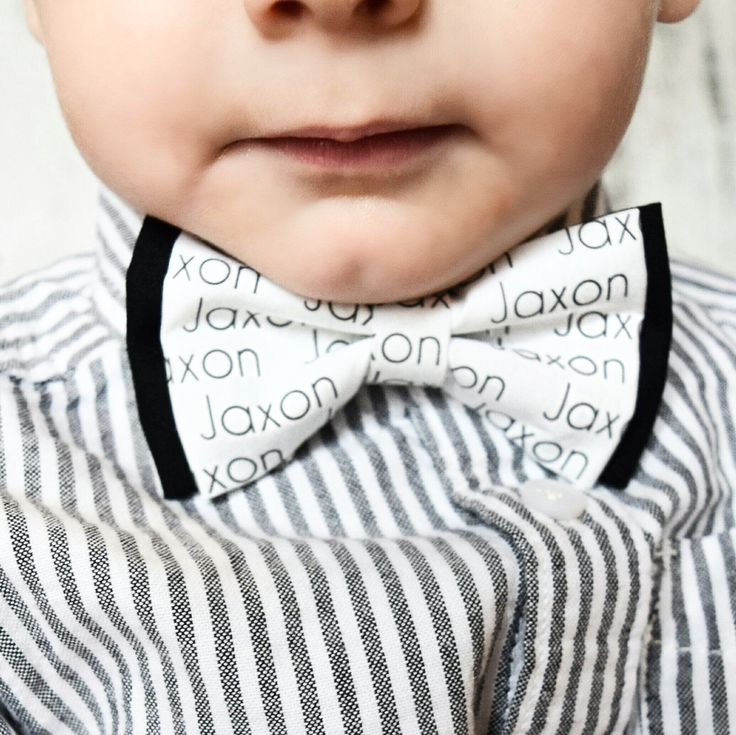Personalized Toddler Bow Tie - Personalized Baby Shower Gift - Personalized Gift - Bow Tie - Toddler Bow Tie - Toddler Fashion
