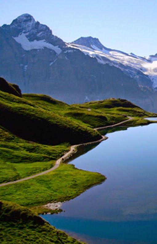 Bachalpsee-Berner-Oberland-Switzerland