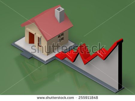 image illustration for graphic growth - stock photo