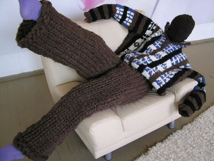 more knitted pants