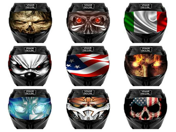 Best  Motorcycle Helmet Decals Ideas On Pinterest White - Motorcycle helmet visor decals