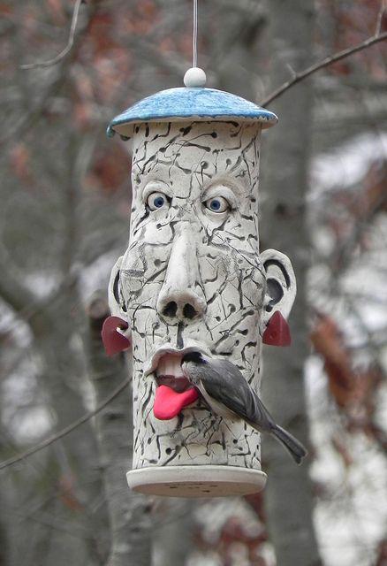 Chickadee face by Alice DeLisle, via Flickr