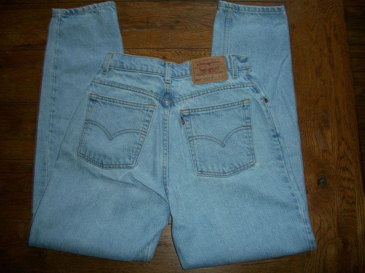 Womens Levis Jeans 550 Relaxed Fit Tapered Leg 10 Reg L 28 X 31 #Levis #RelaxedTaperedLeg