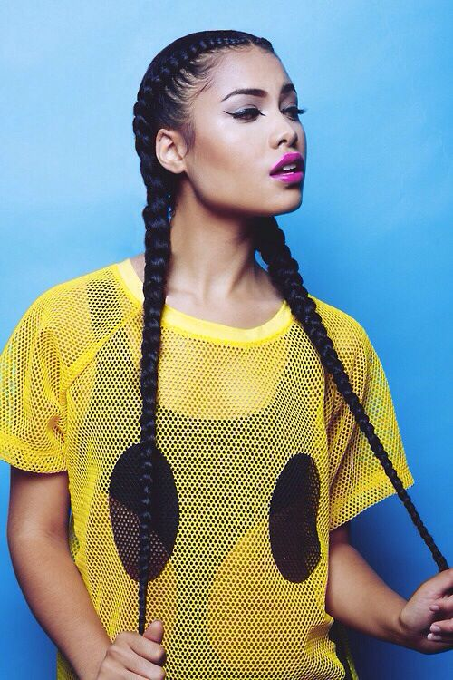 Best 25 two cornrow braids ideas on pinterest two goddess two braids ccuart Image collections
