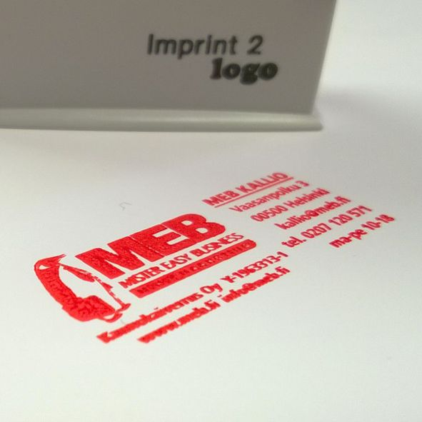 Custom automatic & manual stamps with your favorite color ink