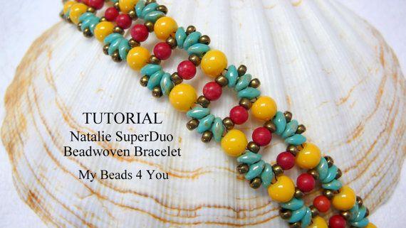 PDF Beading Pattern Beadwork Bracelet Pattern by mybeads4you, $7.00