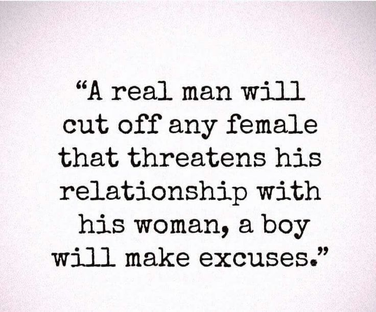 If a guy checks out women when he's with me, or says he wants to be exclusive while making excuses for why he's not really acting all in, it's a red flag..especially when he can't even hear his own excuses. Move on