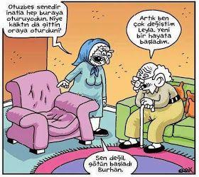 Karikatür | Komik Karikatürler 2013 | Komik Resimler: Artık çok değiştim :))