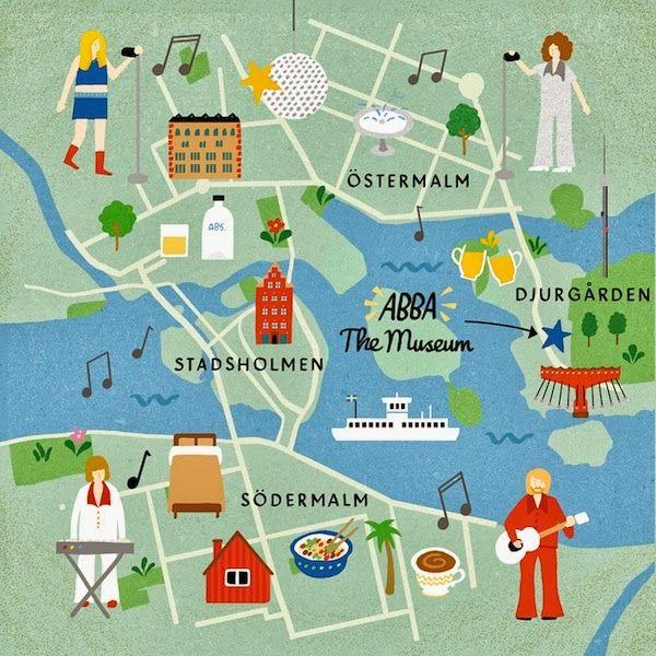 Image result for Stockholm *Map