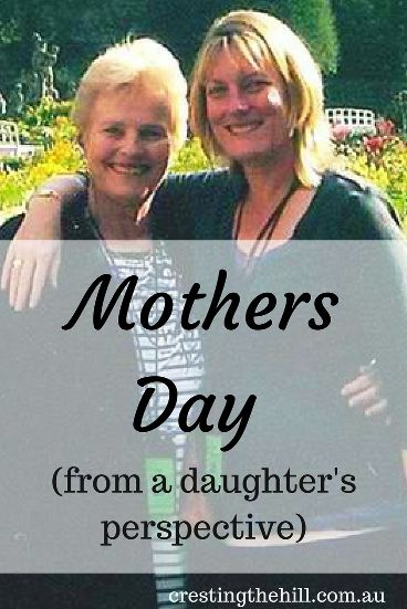 We all love to our kids to remember Mothers Day - but do we do the same for our own Mums?