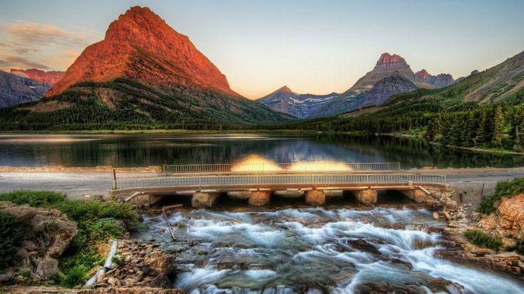 Montana, National Parks            National ParksMountain Landscapes, Parks Montana, Buckets Lists, Favorite Places, Nature, The Edging, Glacier National Parks, Beautiful, Bridges