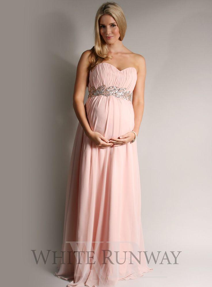 Black maternity bridesmaid dresses flower girl dresses for Designer maternity wedding dresses