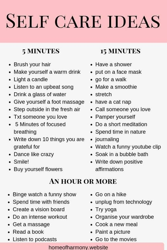 List Of Things To Do When Bored: Wishing You A Restful Weekend And A Healthy Body And Mind