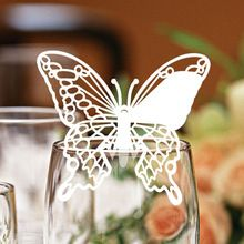 Butterfly decorations elegant table elephant place card holder for weddings