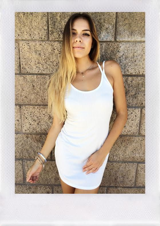 TRANQUILITY DRESS- WHT