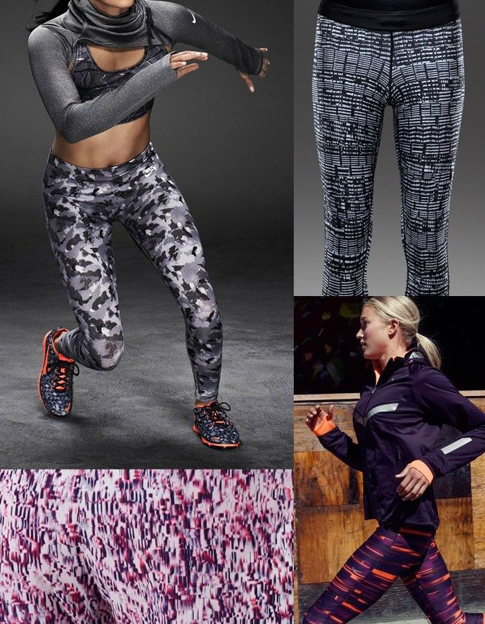 Active Sportswear Print & Pattern [Special Report] | Patternbank Nike Running