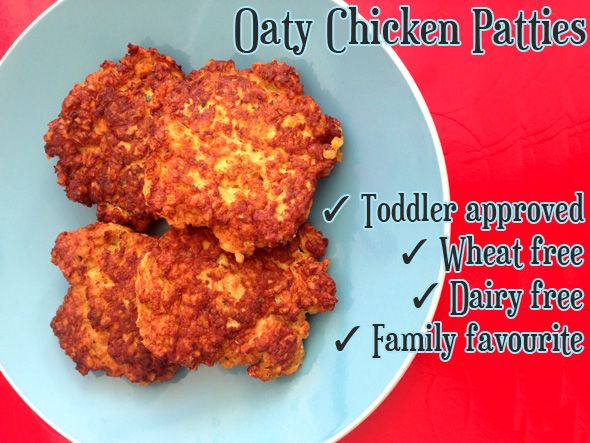 These chicken patties are a hit with everyone in our family, even with the fussier five year old - albeit with a dash of tomato sauce! At 20 months AJ gobbles them up and both Dad 101 and I both go back for seconds ;) They are quick and easy to make, and wheat and…